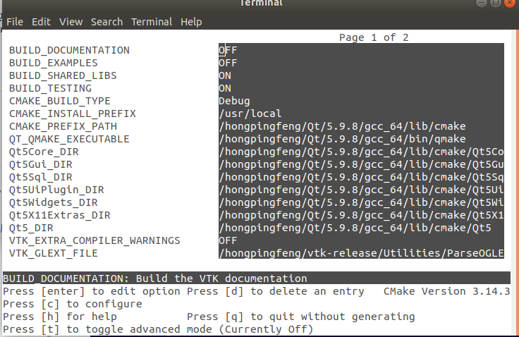 Error importing vtkTkRenderWindowInteractor in vtk 8 2 0